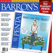 Barron's cover of Penta section, 2009