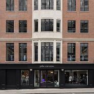Exterior of John Varvatos London boutique
