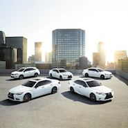 Lexus Crafted Line models