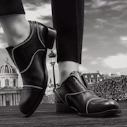 "Video still from Louis Vuitton's ""Shoes Across Paris"""