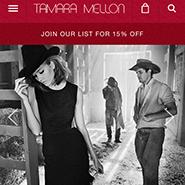 Tamara Mellon's mobile site