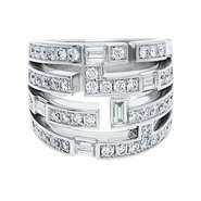 Harry Winston Traffic ring from New York Collection
