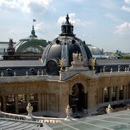 Petit Palais with Grand Palais in background
