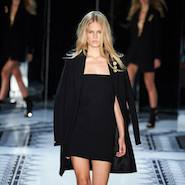 Look from Anthony Vaccarello Versus Versace show