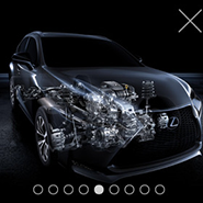 Lexus NX virtual reality app