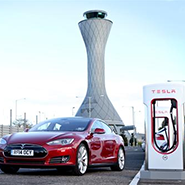 Tesla Supercharging location in Edinburgh