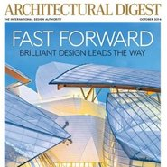 Architectural Digest's October cover