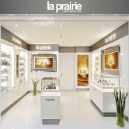 La Prairie's boutique at the Grand Resort Bad Ragaz