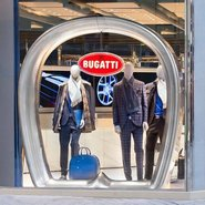 Bugatti London store front