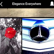Mercedes-Benz elegance everywhere campaign