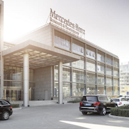 Mercedes-Benz facility in Beijing