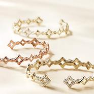 Venetian Quatrefoil bracelets