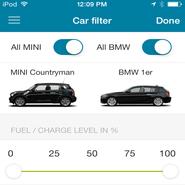 BMW DriveNow app in London