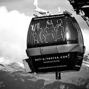 Net-A-Porter ads at Courcheval