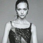 Australian model Gemma Ward for Prada spring 2015