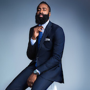 James Harden for Bloomingdale's