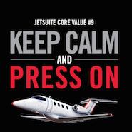 JetSuite core values ad