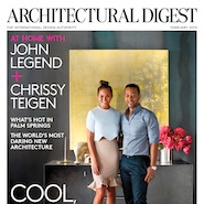 Architectural Digest's February 2015 cover