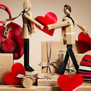 Burberry Valentine's Day promotional image