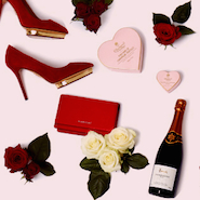 Image from Harrods Valentine's Day email