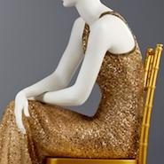 Oscar de la Renta dress on display at SCAD