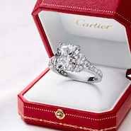 Cartier engagement ring