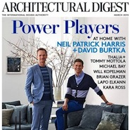 Architectural Digest's March 2015 cover
