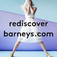 Promotional image for Barneys Web site redesign