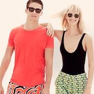 Promotional image for Orlebar Brown + Emilio Pucci