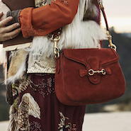 Gucci's Lady Web handbag is the focus of the campaign