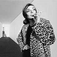Anne Bancroft and Dustin Hoffman on the set of The Graduate