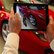 Ferrari's augmented reality app