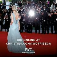 Promotional image for IWC auction