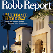 Robb Report's April 2015 cover