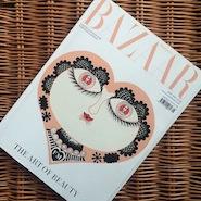 Fortnum & Mason's limited-edition Harper's Bazaar cover