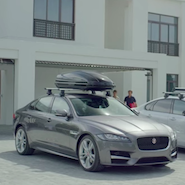 Jaguar's new XF has many accessories