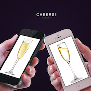 Moët uses Skosh to send Champagne to friends