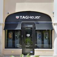 Tag Heuer boutique in St Tropez