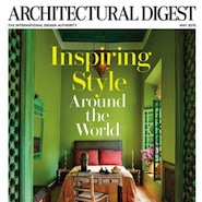 Architectural Digest's May 2015 cover
