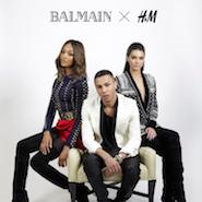 Balmain H&M campaign featuring Kendall Jenner and Jourdan Dunn