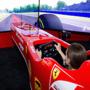 Ferrari race simulator