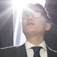 Image of Bryanboy from Hugo Boss' Master the Light campaign