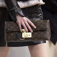 Handbag on Louis Vuitton fall/winter 2015 runway