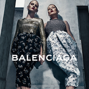 Lara Stone and Kate Moss for Balenciaga fall 2015