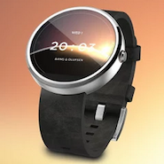 B&O interface for Androids smartwatches