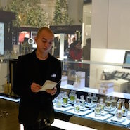 Sales associate at Dior