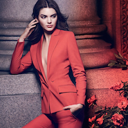 One of two images of Ms. Jenner for the Dare to Wear Red campaign
