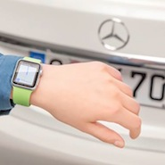 Mercedes' MB Companion app for Apple Watch