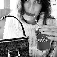 Jeanne Damas for Roger Vivier's fall/winter 2015 campaign