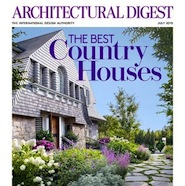 Architectural Digest's July 2015 cover